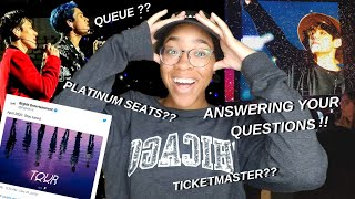 BEST tips for buying AMAZING kpop concert tickets Q&A pt. 2 (bts tour 2020 tickets)