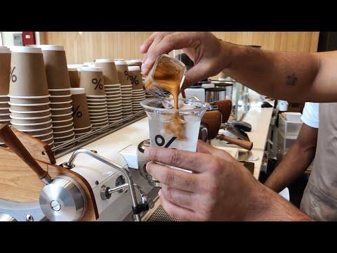 🇦🇪 Arabica Coffee Being Made By Kind Staff In City Walk - Dubai UAE