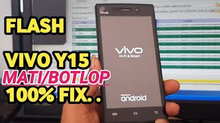 How to flash Vivo Y15 by Sp flash Tool.