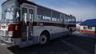 【前面展望】30線西3号~中多寄~士別駅前【士別軌道・モノコックバス日野K-RC301P】