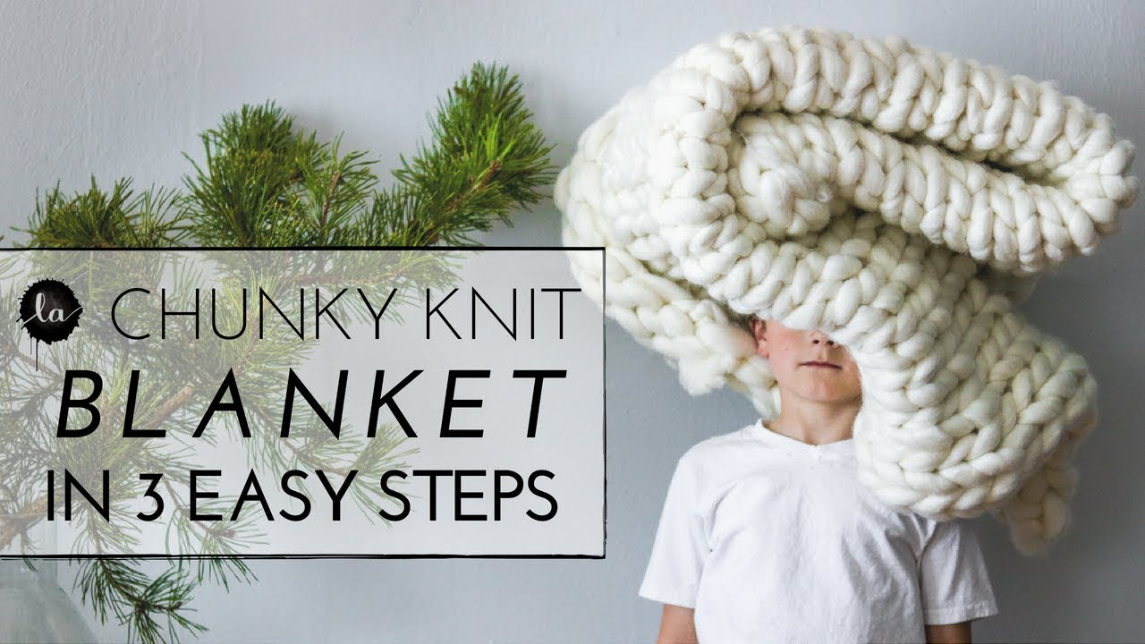 chunky knit throw pillow in under an