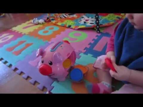 Fisher Price Laugh & Learn™ Learning Piggy Bank™ Review