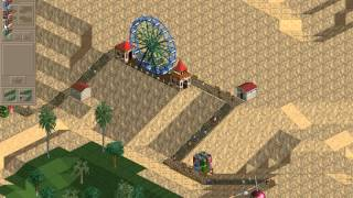 Rollercoaster Tycoon Loopy Landscapes #26 (Arid Heights: A blank canvas)