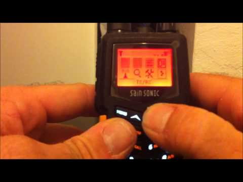 Sainsonic RST599 review water test programming