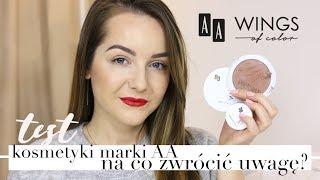TEST KOSMETYKÓW AA Wings of Color - NA CO WARTO ZWRÓCIĆ UWAGĘ? | Milena Makeup