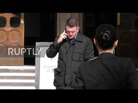 UK: Tommy Robinson goes to High Court over Syrian child bullying case