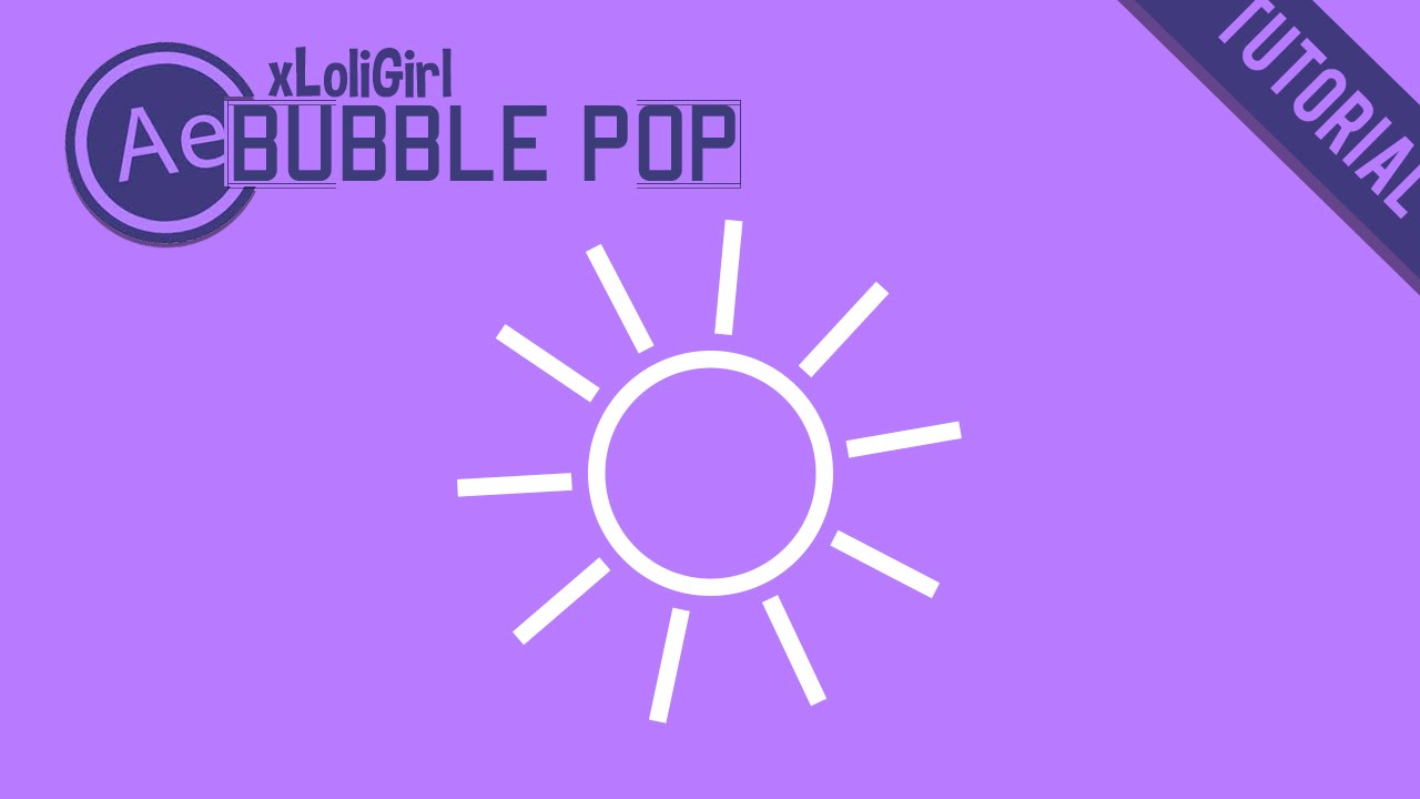 bubble popping animation