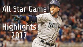 2017 MLB ALL STAR GAME HIGHLIGHTS! (BEST MLB PLAYS 2017 ASG)