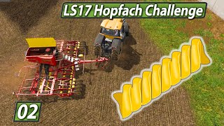LS17 HOPFACH 🚜 Die Nudel reiben oder pressen? ► #2 LANDWIRTSCHAFTS SIMULATOR 17 Challenge