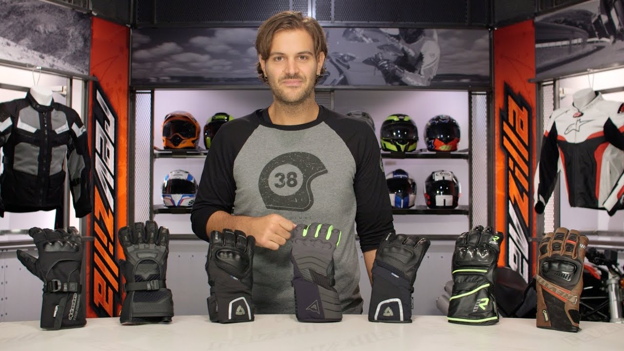 Motorcycle gloves guide - 2015 Waterproof Motorcycle Gloves Buyers Guide At Revzilla Com Youtube