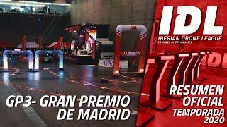 FPV Racing / IDL 2020 GP3 Madrid Arena