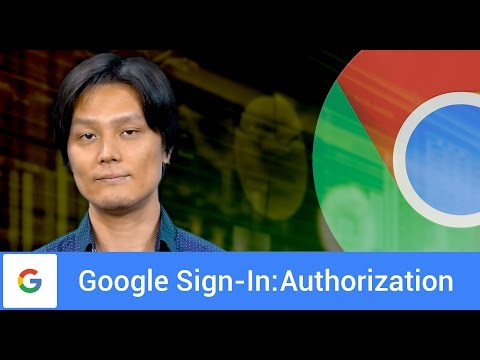 Google Sign-In for Websites: Authorization