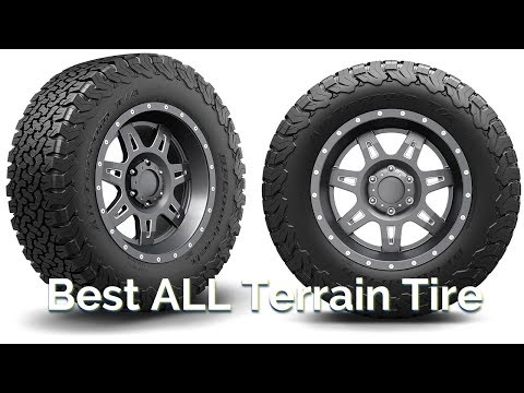 Best All Terrain Tires Review 2018
