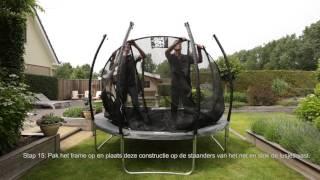 Black Line trampoline opbouwinstructies