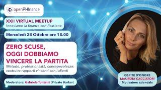 XXII Virtual Meetup   Maurizia Cacciatori