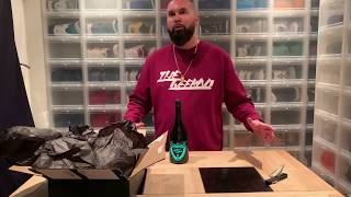 Unboxing : Dom Pérignon Vintage 2008 Luminous Collection - Glow in the dark
