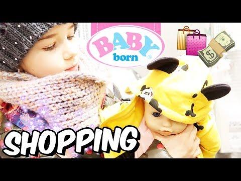 BABY BORN Amelie braucht neue Klamotten 👶 SHOPPING ❤️ Lulu & Leon