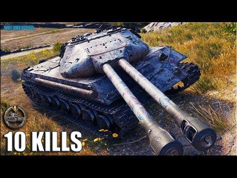Колобанов на ДВУСТВОЛКЕ Объект 703 2 ✅ World of Tanks лучший бой Объект 703 Вариант II