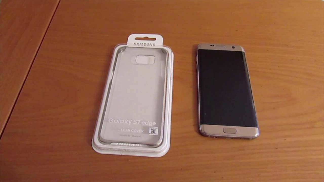 samsung s7 clear cover