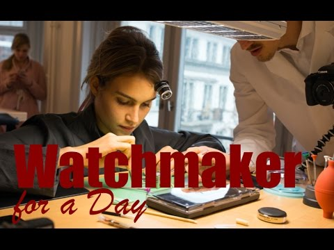 BUILDING A MECHANICAL WATCH MOVEMENT | Switzerland | VLOG