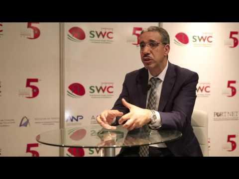 SWC2016 Interview avec M  Aziz Rabbah, Ministre de l'Equipement du Transport et de la Logistique