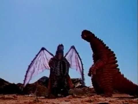 Dorako kills Red King (Ultraman Powered)