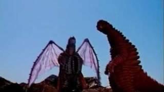 Red King vs Dorako (Ultraman Powered)
