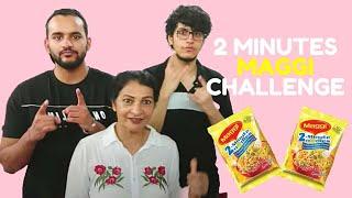 2 Minutes Maggi Challenge (Triggered Insaan vs Fukra Insaan)