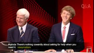 Josh Thomas Talks About Male Suicide