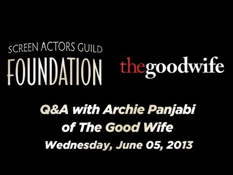Conversations with Archie Panjabi of THE GOOD WIFE