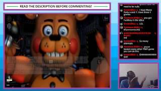 Livestream #46 - Ultimate Custom Night - Part 0 - Practice