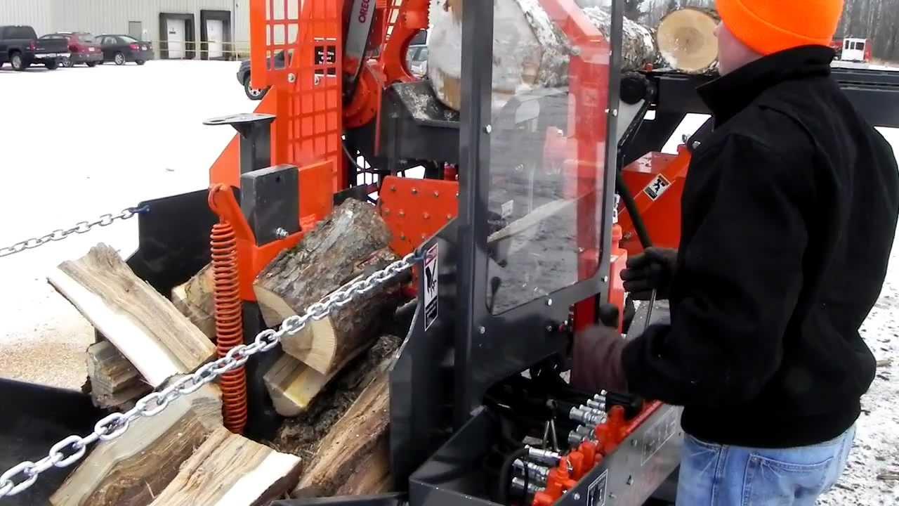 New 2012 Multitek 1610ez Firewood Processor Youtube