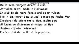 Alex Velea E marfa tare Lyrics)