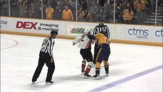 Gotta See It: Bieksa loses tooth in brawl with Fisher