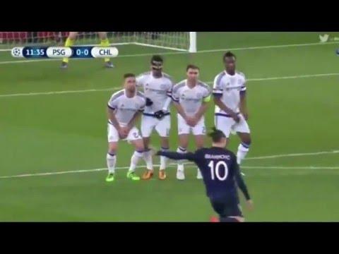 PSG vs Chelsea 2-1 [HD] Goals & full match highlights UEFA Champions League 2016.02.16