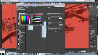 A/O Texture Baking with Mental Ray for 3DS Max