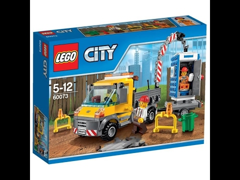 lego city camion grue de chantier youtube. Black Bedroom Furniture Sets. Home Design Ideas