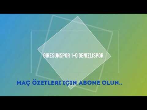 Giresunspor 1-0 Denizlispor | Maç Özeti HD