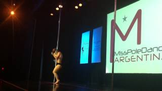 campeona total de Pole Dance competition final - Miss Pole Dance Argentina & Sudamérica 2013 vid 21