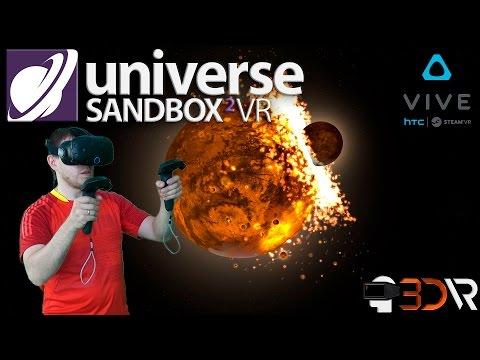 Обзор игры Universe Sandbox 2 VR /  Космическая игра по созданию галактики