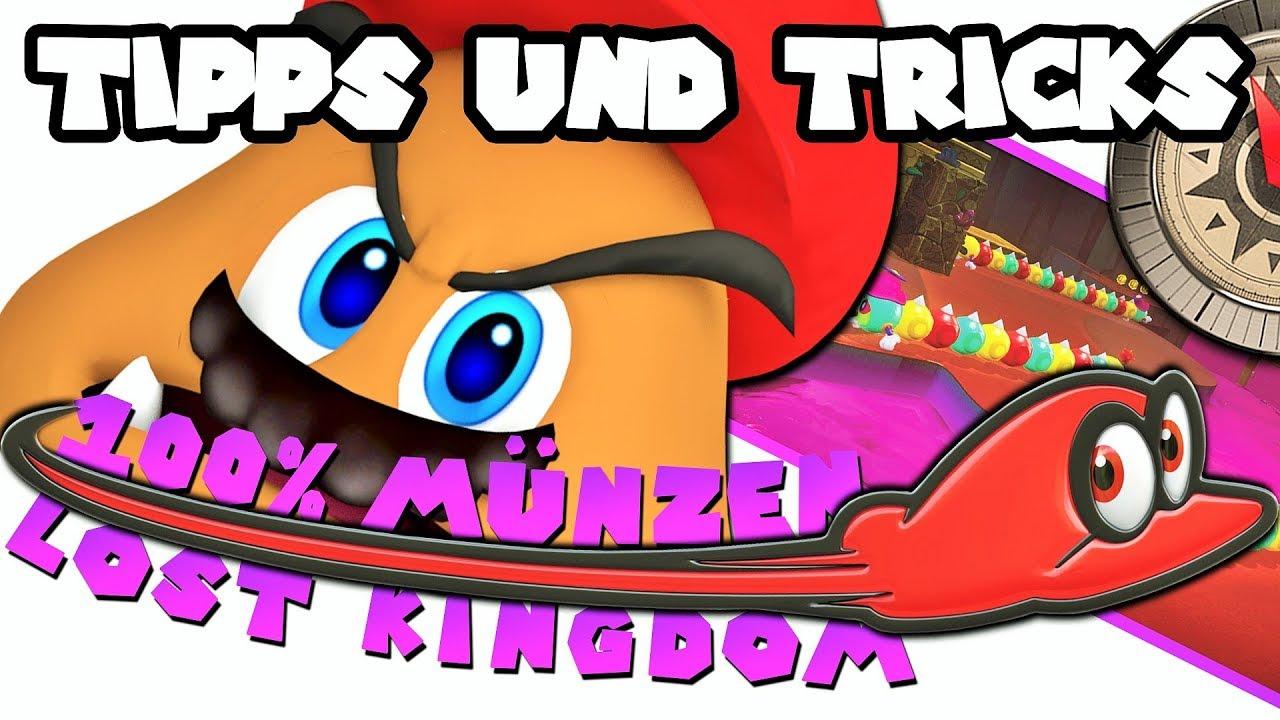 Super Mario Odyssey Lost Kingdom Alle Münzencoins 100 Münzen