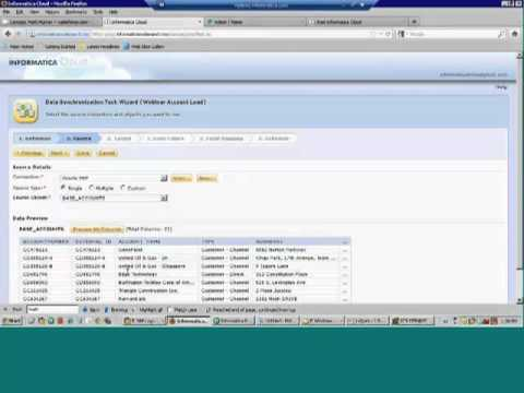 Informatica Cloud in 30 minutes: Architecture Overview and 6 demos