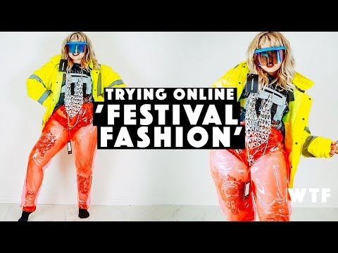 TRYING NEW FESTIVAL FASHION (from pretty little thing) | SIZE 14