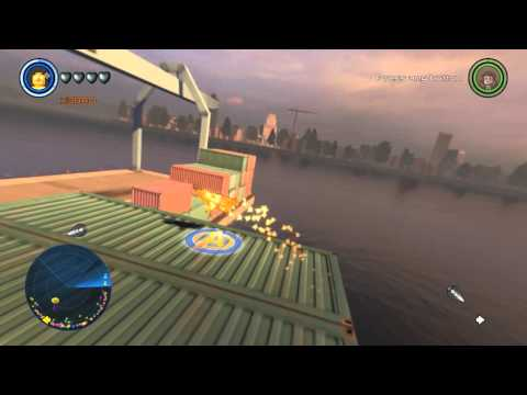LEGO Marvel's Avengers West Manhattan Industrial District, West Side, Free Roam Gameplay