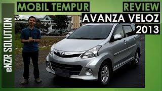 TOYOTA AVANZA VELOZ 2013 review | enzr solution | indonesia