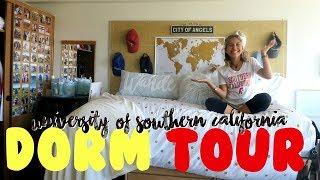 COLLEGE DORM TOUR 2017 | USC thumbnail