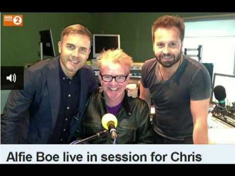 Alfie Boe Live in Session on Chris Evans Breakfast Show 041013