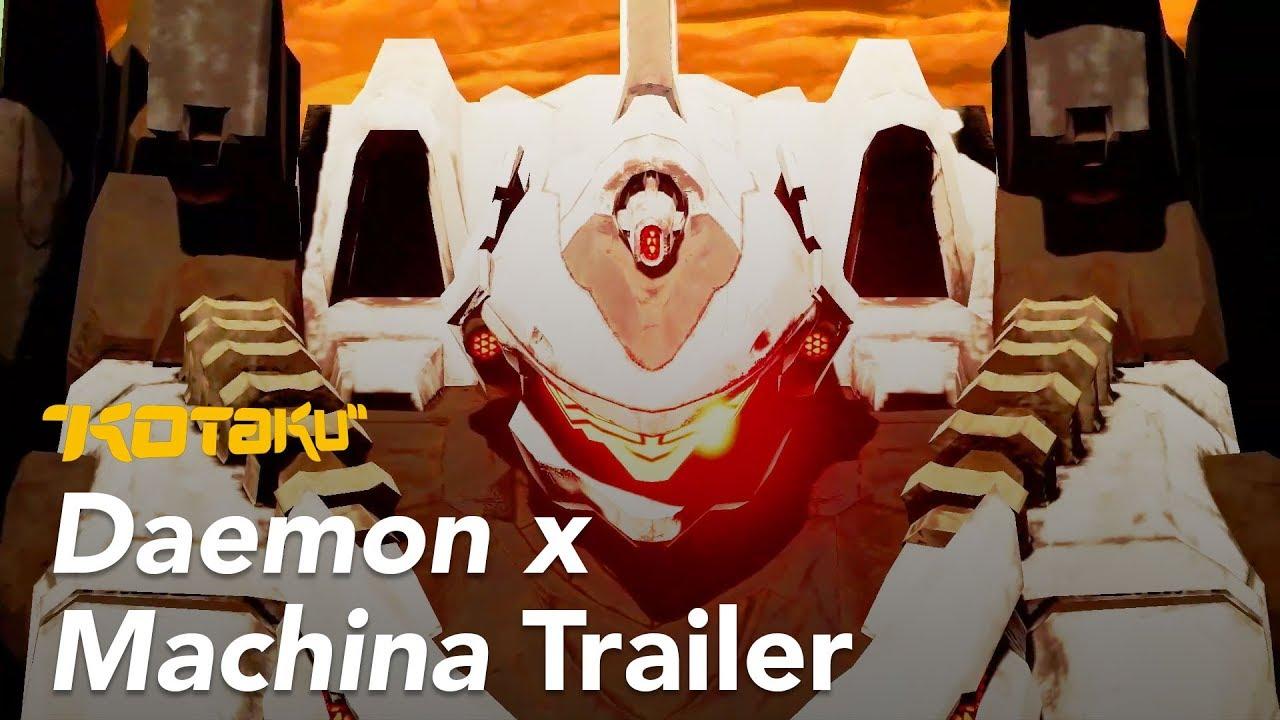 Daemon X Machina Trailer, E3 2018
