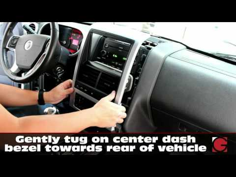 Mercury Mountaineer Stereo Removal Guide & GROM USB Android iPhone Bluetooth Install