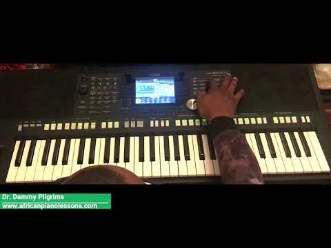 Onise Iyanu (Nataniel Bassey) - Full Piano Tutorial in key G
